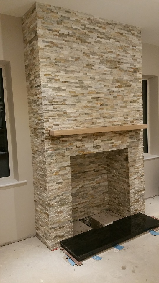 Natural Stone Ivory Colour Stone Cladding for Interior