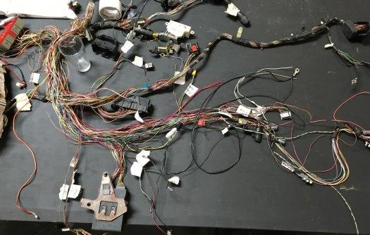 Wiring harness surgery.