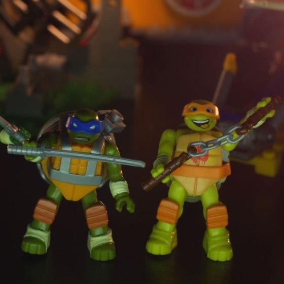 Mattel TMNT Mega Bloks