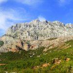 La Ciotat, La Route des Crêtes et le Castellet village.