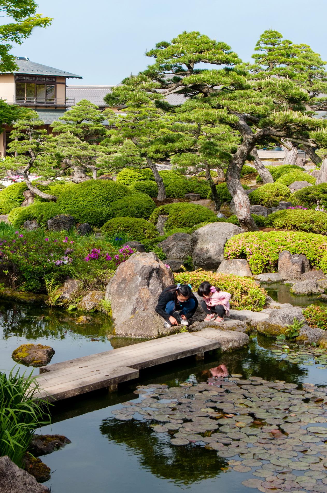 le jardin japonais yuushien promenade