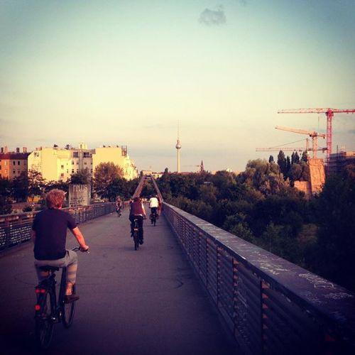 Visite guidée Berlin à Vélo en français