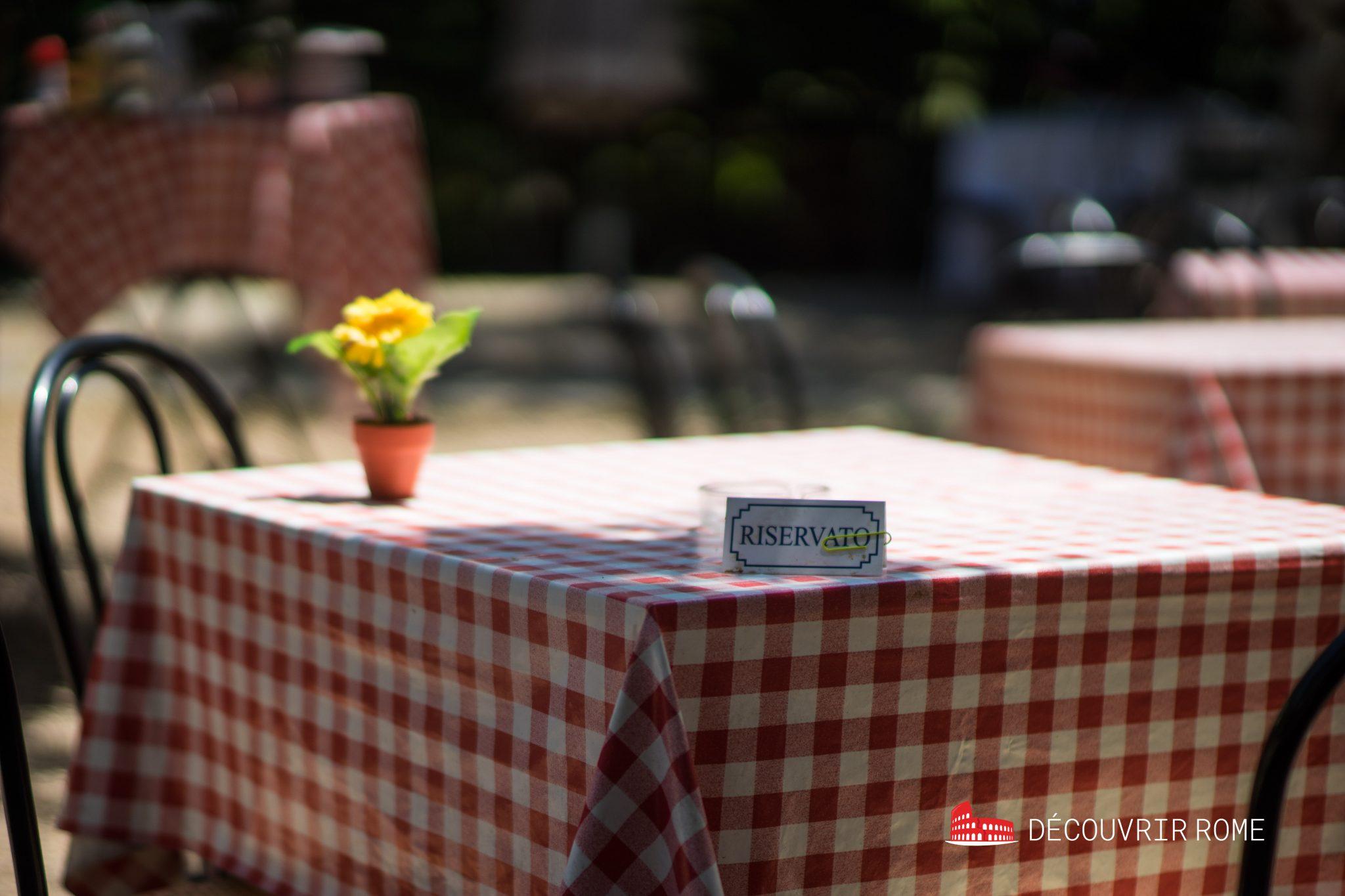 restaurants Rome