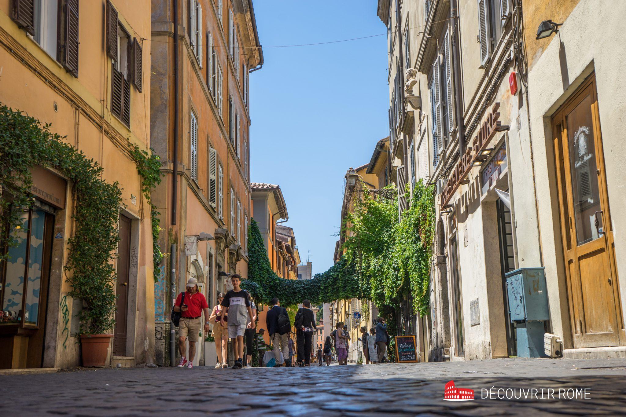Quartiers Rome Trastevere