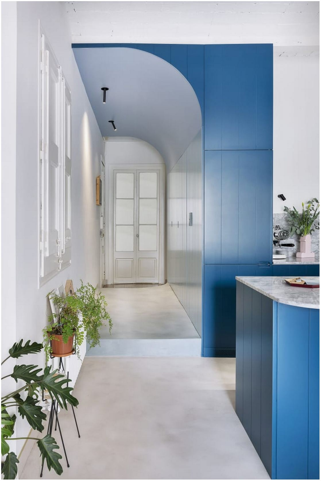 Sprucing Up Your Hallway - Prioritize pops of color