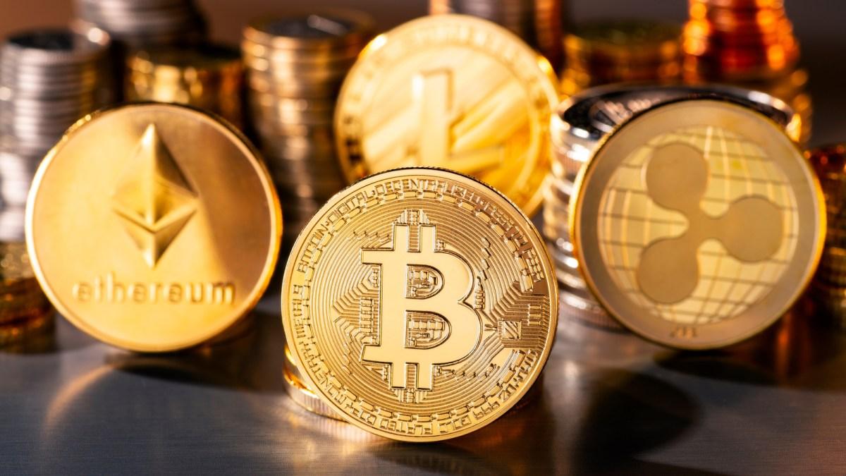 Bitcoin, Ethereum, XRP, and Litecoin