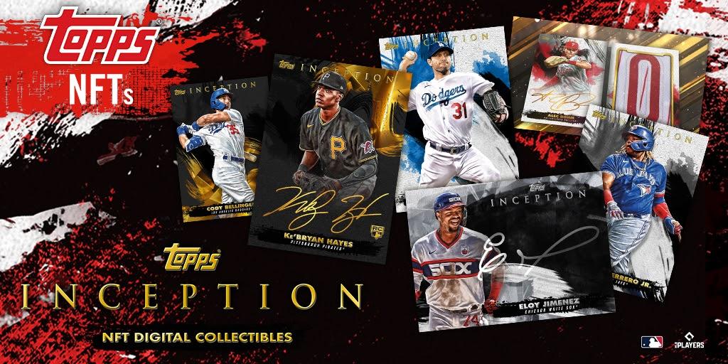 Topps's new MLB NFTs. Image: Topps