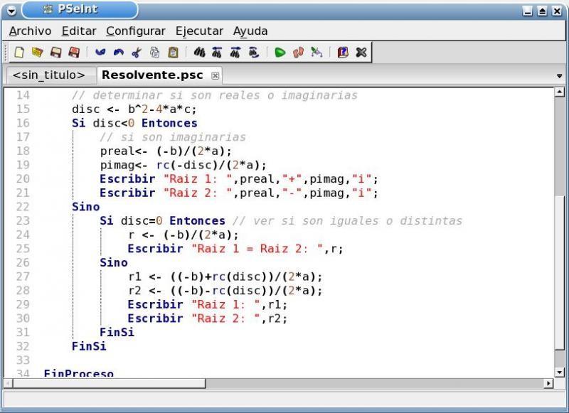 Curso gratis de programación en PSEINT