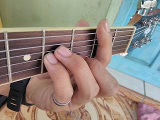 kunci gitar Bm gantung