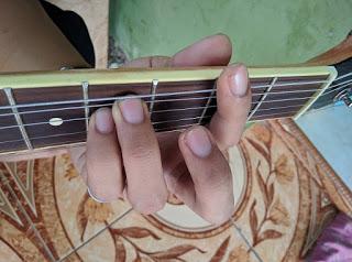 kunci gitar F#m