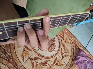 chord Am gantung