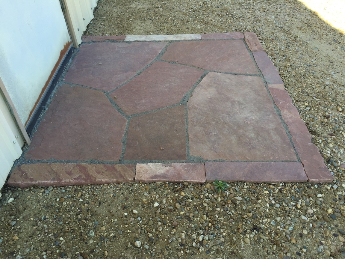 Flagstone Patio Installation  Repair