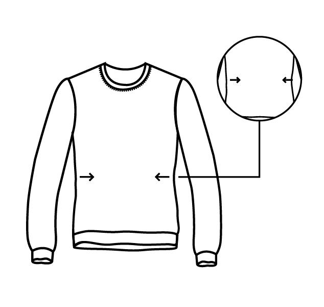Costura Ajustar uma Camisa