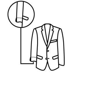 casaco manga