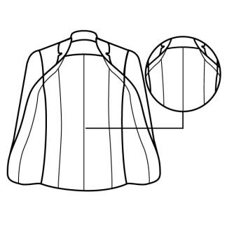 casaco mudar forro