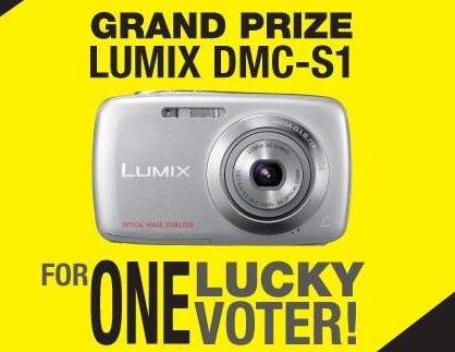 02 - Vote Foto Dapat Kamera Lumix DMC-S1