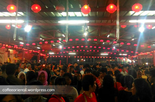 Suasana Malam Cap Go Meh 2016. Photo courtesy by Miera
