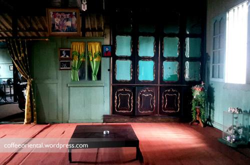 Sudut rumah yang menjadi saksi bisu tempat Soekarno makan bersama