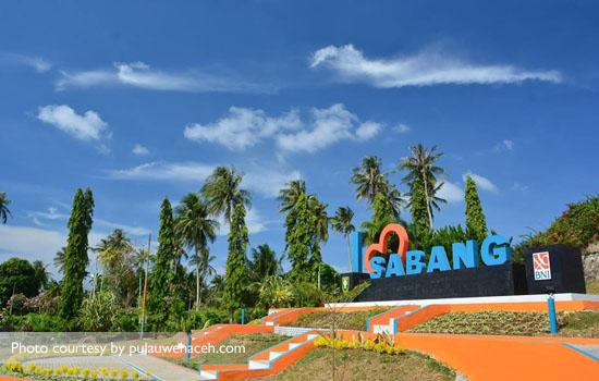 Tugu I Love Sabang, ikon baru kota Sabang