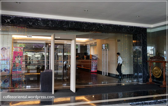 Lobby Hotel Beston Palembang