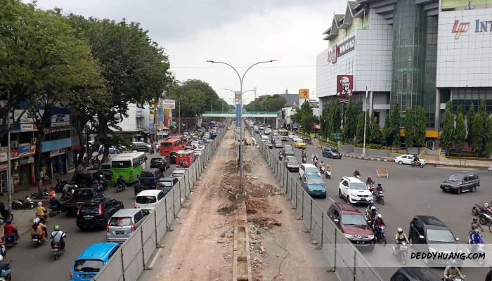 Zona 4 tempat ditemukan sisa peninggalan pipa Belanda