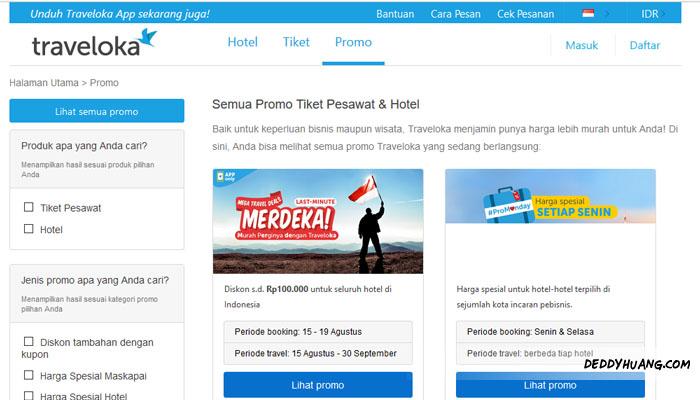 traveloka 02 - 5 Alasan Booking Tiket Pesawat dan Hotel Murah Pakai Traveloka