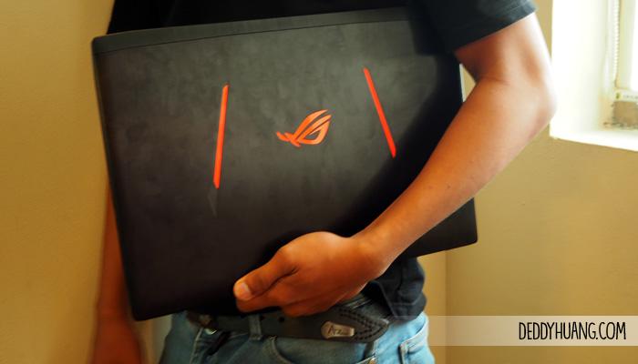 11 - Menjajal Kemampuan ASUS ROG Strix GL502VS, Laptopnya Gamers Sejati!