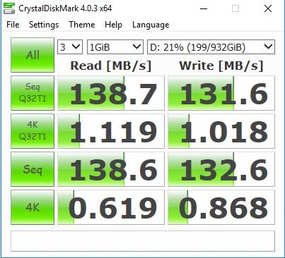 crystaldiskmar hdd - Menjajal Kemampuan ASUS ROG Strix GL502VS, Laptopnya Gamers Sejati!