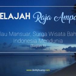 raja ampat waisai - Jelajah Raja Ampat: Pulau Mansuar, Surga Wisata Bahari Indonesia Mendunia