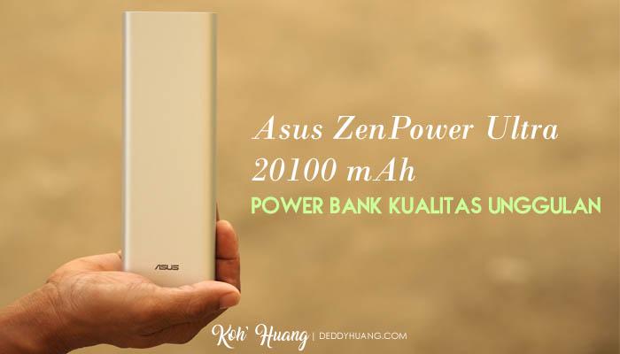 banner zenpower ultra - Asus ZenPower Ultra 20100 mAh, Power Bank Kualitas Unggulan
