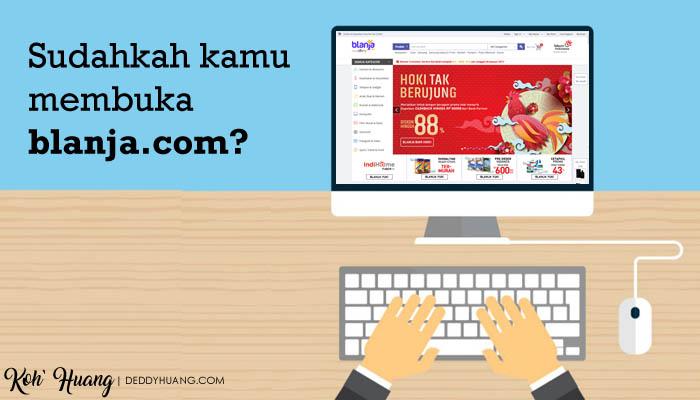 belanja lewat blanja - Bulan Penuh Hoki Tak Berujung Bersama Blanja.com