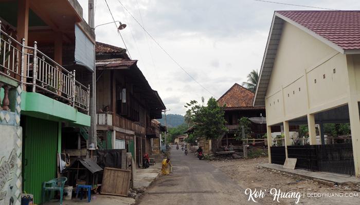 Masuk ke Desa Bedegung, Muara Enim