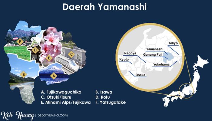 daerah yamanashi - Menikmati Sakura Jepang Enaknya Kemana? Yamanashi!