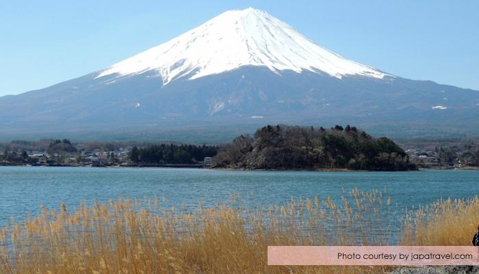 danau kawaguchiko - Menikmati Sakura Jepang Enaknya Kemana? Yamanashi!