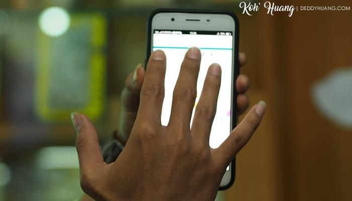 Screenshot lebih mudah cukup gunakan fitur Gesture di OPPO
