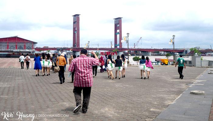 Menuju ke Pulau Kemaro bareng OPPO dan Netizen Palembang