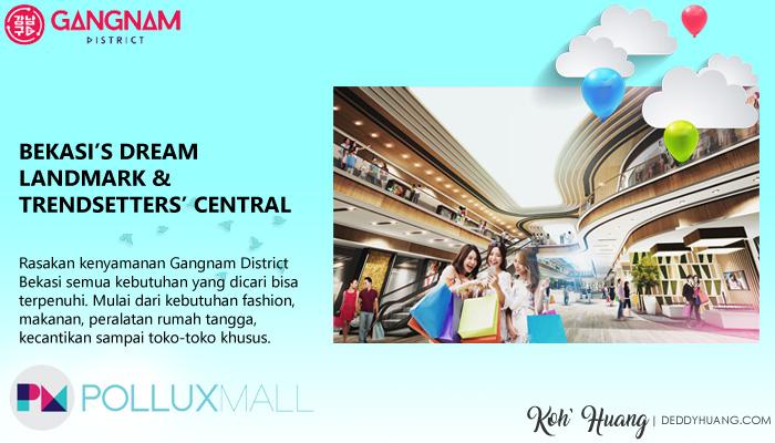 pollux mall - Gangnam District Hunian Bergengsi Pusat Kota Bekasi