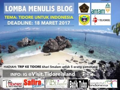 banner visit tidore - Visit Tidore Island - Merekam Jejak Wisata Pulau Rempah