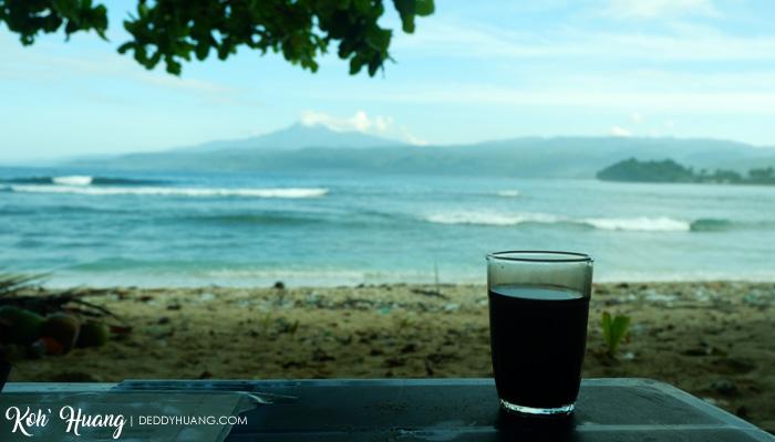 morning coffee - Jelajah Pesona Pulau Pisang, Krui (Bagian 1)