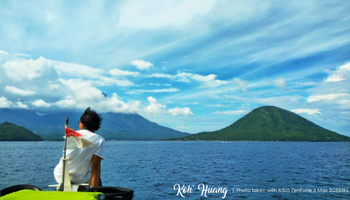 tidore dan maitara - ASUS ZenFone 3 Max (ZC553KL) Menemani Perjalanan Seru di Tidore