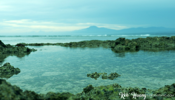 tumpukan karang - Menikmati Krui Dalam Satu Hari