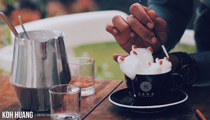 3d art latte - Bandung, Relung Hati Rindu Tak Terbendung