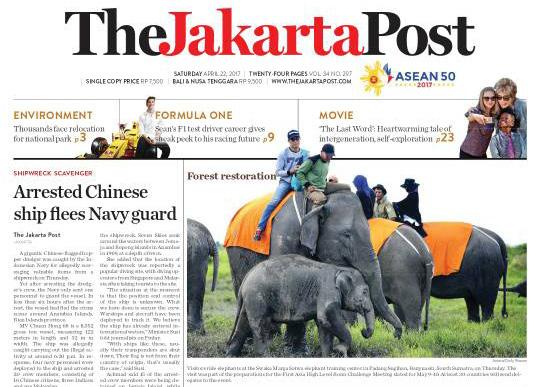 jakarta post elephant