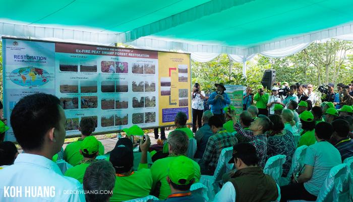 pembukaan bonn challenge - Palembang Tuan Rumah Bonn Challenge 2017