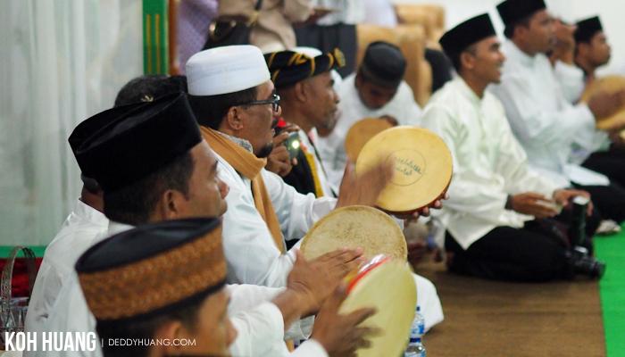 tetabunan rebana - Ratib Taji Besi, Tradisi Debus Tidore