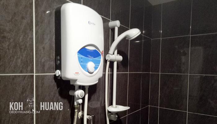 hot shower - Panduan Berobat ke Melaka : Mahkota Medical Centre
