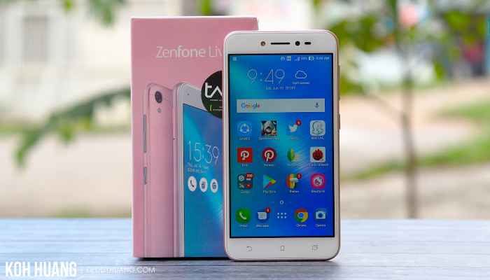 review asus zenfone live indonesia - Review : ASUS ZenFone Live ZB501KL, Bagus Untuk Live Broadcasting