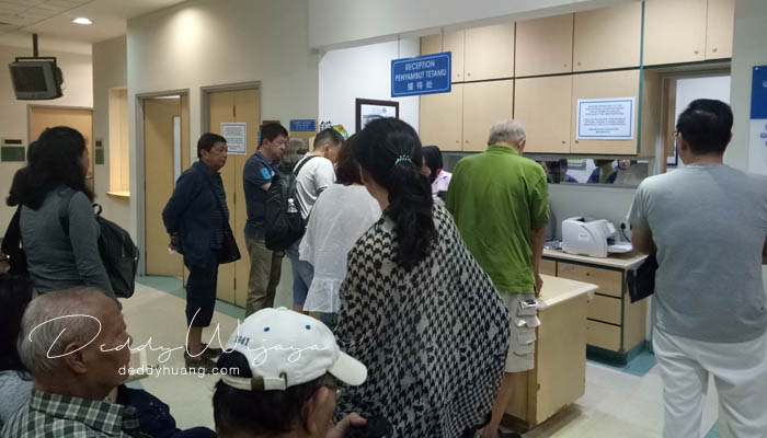 antrian dokter tei - Panduan Berobat ke Penang : Penang Adventist Hospital