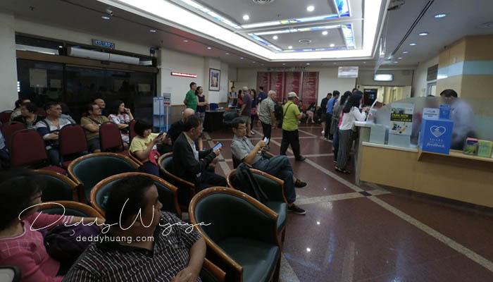 ruang tunggu adventist - Panduan Berobat ke Penang : Penang Adventist Hospital