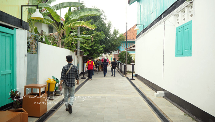 rumah lama arab - Pesona Timur Tengah di Kampung Arab Al-Munawwar 13 Ulu Palembang